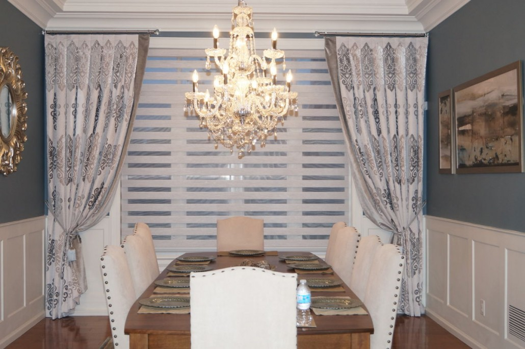 Dining Room Window Coverings Custom Curtains