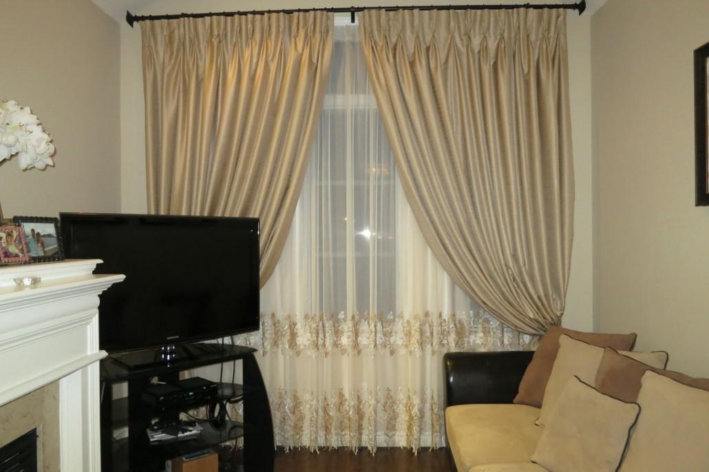 Family Room Window Treatments Drapery Styles
