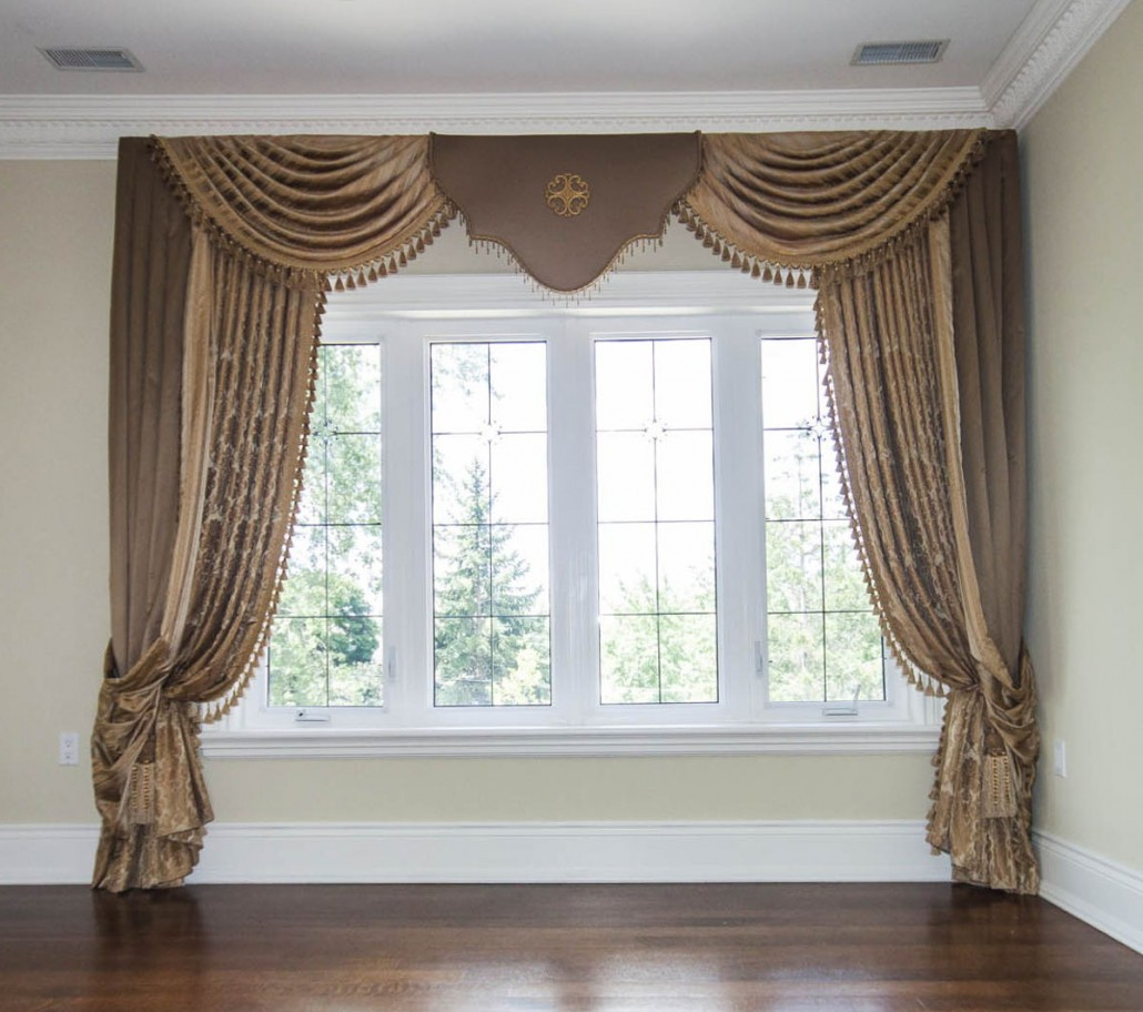 Designs For Bay Window Curtains Ideas