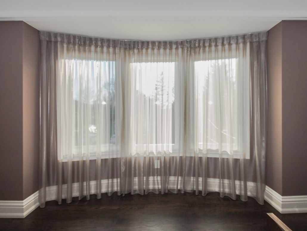 Blackout rollers shades with sheers Bedroom Window Treatments  Drapery Elegant ca